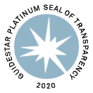 2020 GuideStar Platinum Seal of Transparency