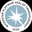 2020 GuideStar Platinum Seal of Transparency