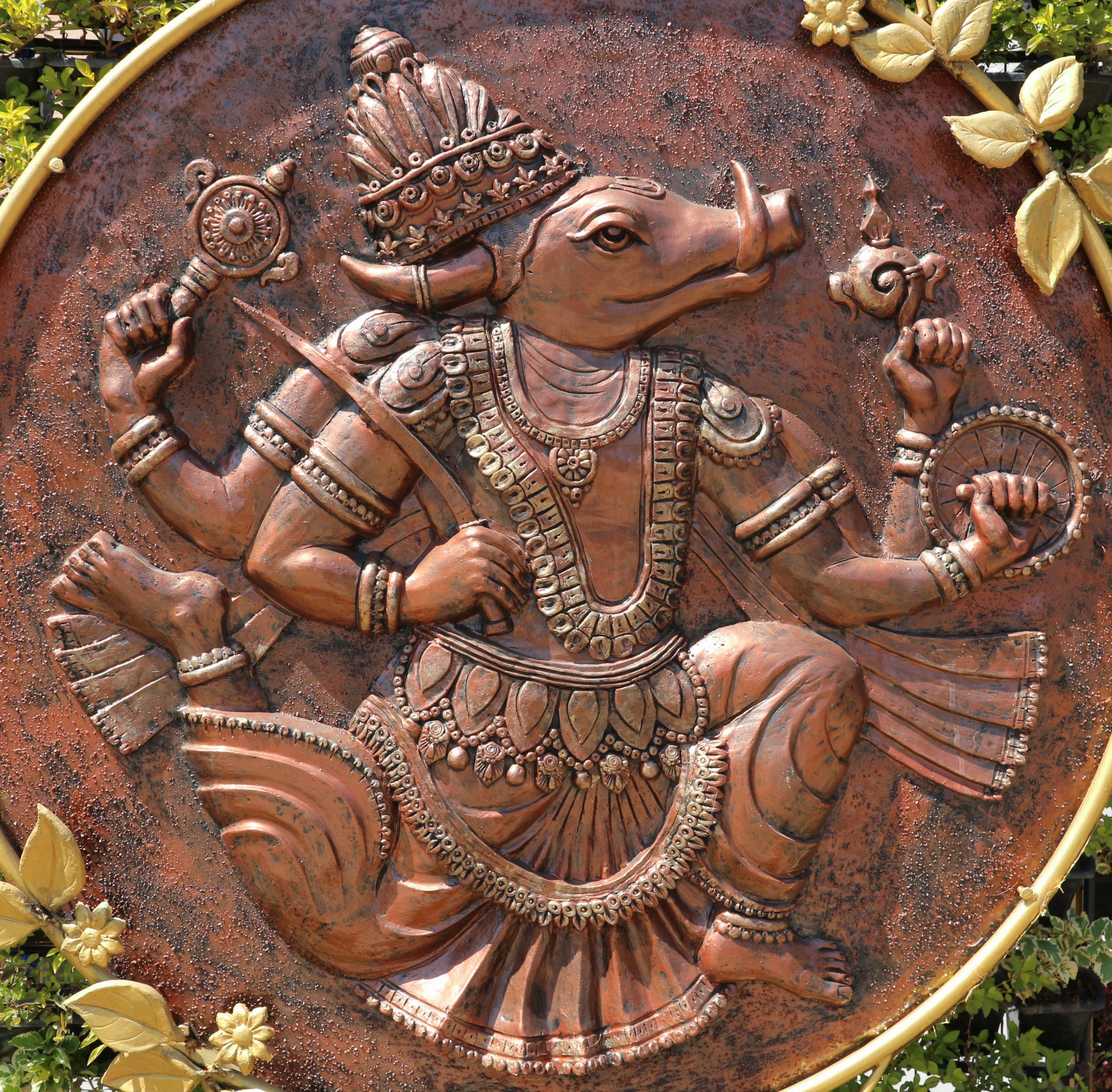 Lord Varaha - Avatar Vishnu. Photo: d odin/Shutterstock