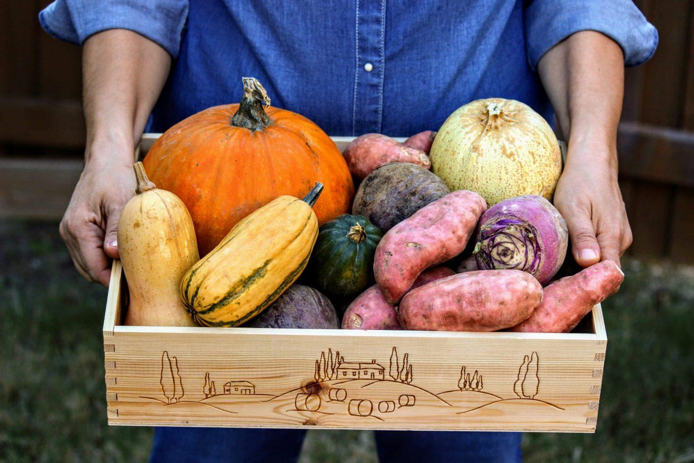 Farm Share CSA box
