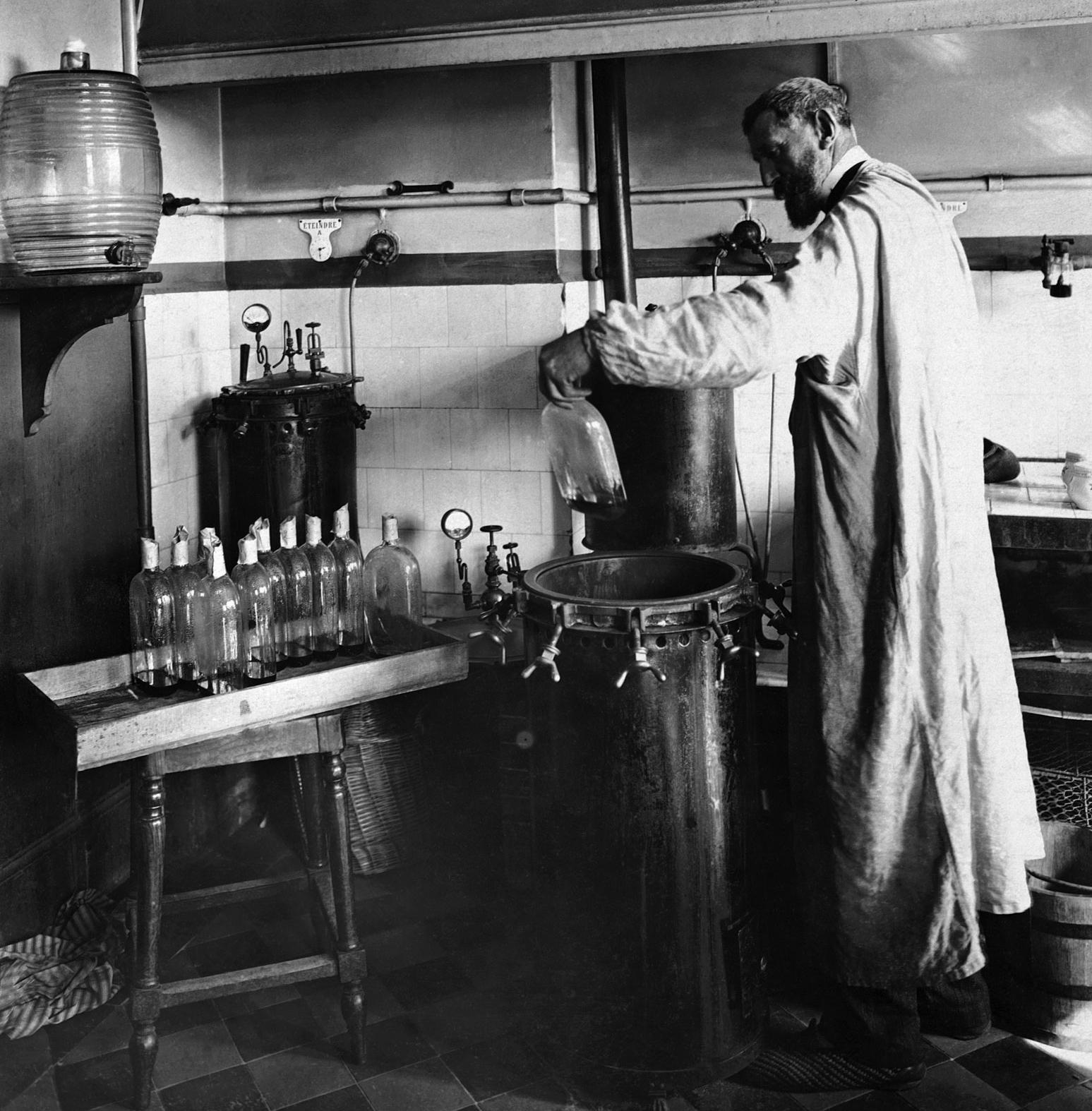 Chemist Louis Pasteur France