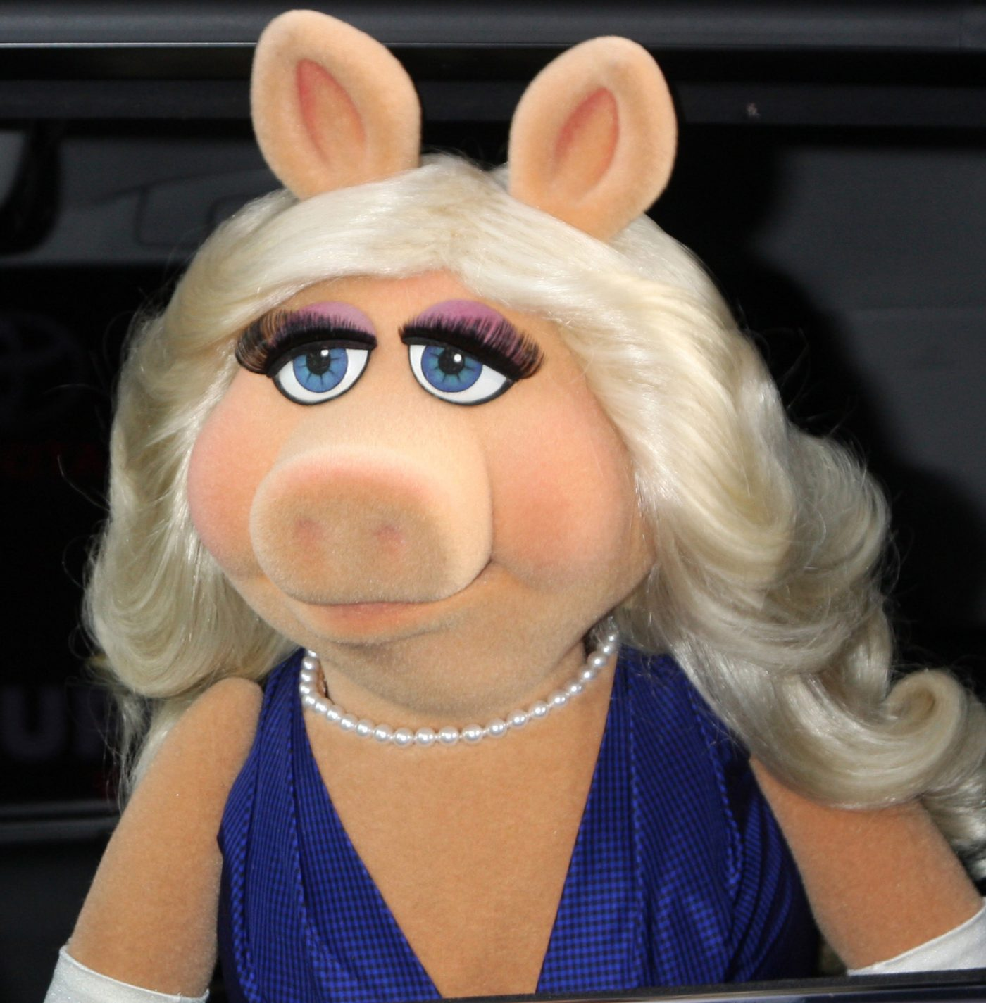 "Miss Piggy at the ""Muppets Most Wanted"" - Los Angeles Premiere at the El Capitan Theater on March 11, 2014 in Los Angeles, CA"