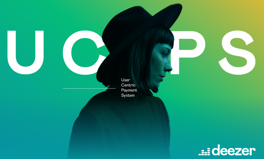 Deezer User Centric Payment System Cover - Woman on Green Background