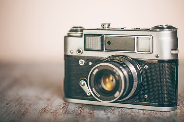 Image of a vintage camera