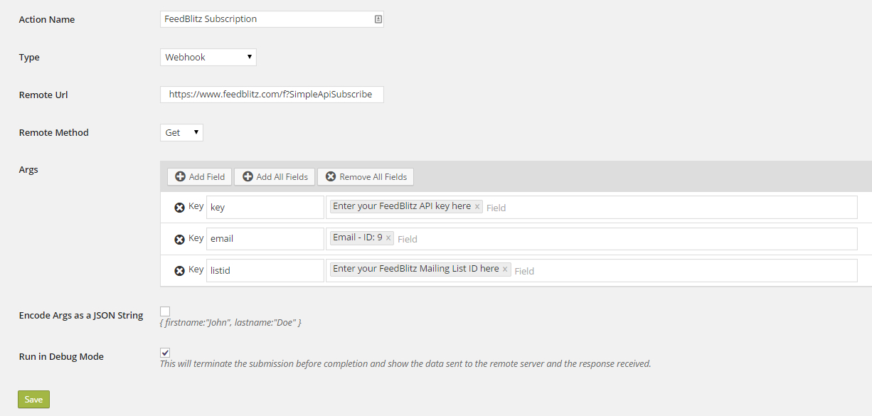 Email like a Ninja! FeedBlitz and the new Webhooks extension