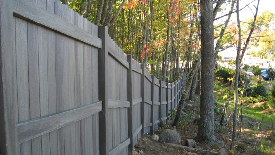 Decking ideas deck photo gallery fiberon - Exterior wood screws for fencing ...
