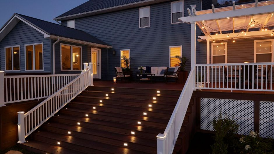 deck lighting ideas. garrison lighting 1 deck ideas