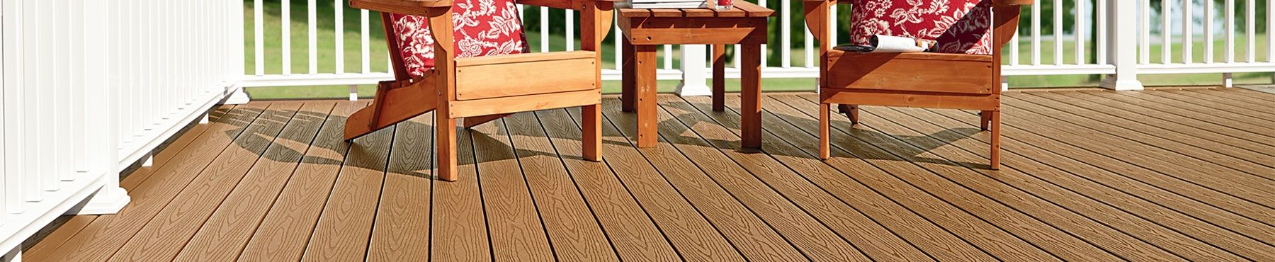 Low Maintenance Value Composite Decking Fiberon