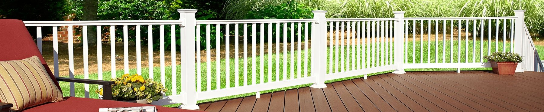 Pvc Railing White Deck Railing Homeselect