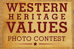 Western Heritage Values Photo Contest