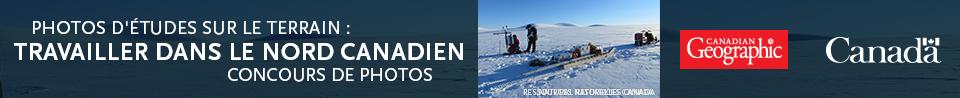 Photos d'études sur le terrain : Travailler dans le Nord canadien