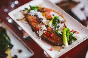 Miso Crusted Slab Bacon