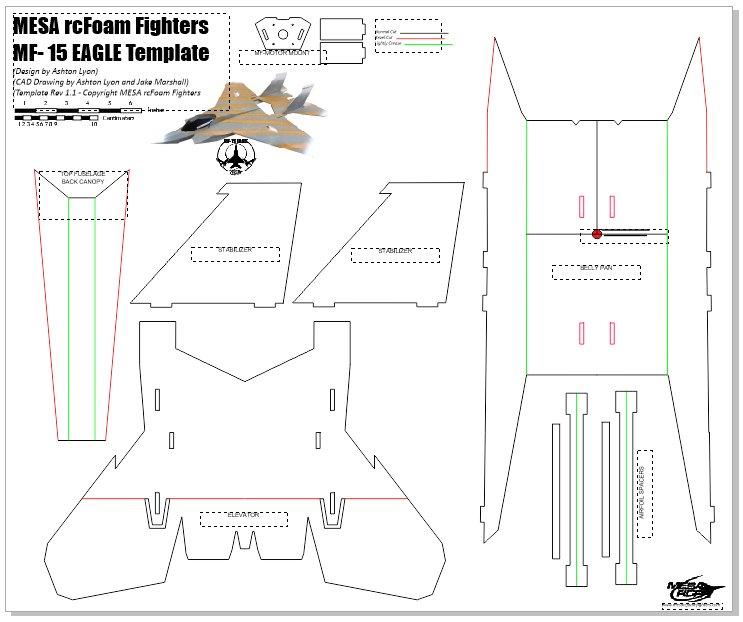 MF-15 Eagle FREE PLANS   Flite Test