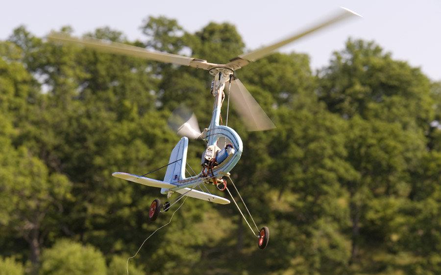 Scratch built autogyro with electric prerotator | Flite Test