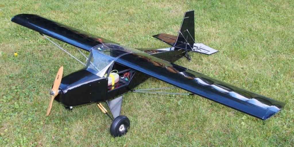Rc Scratch Build 20CC Just Aircraft Highlander | Flite Test