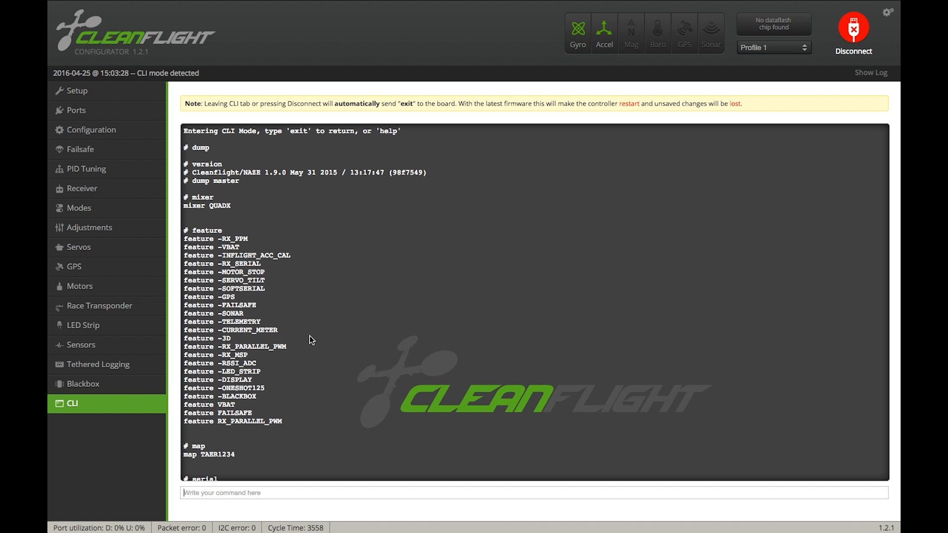 How to Copy Settings (CLI) Cleanflight | Flite Test