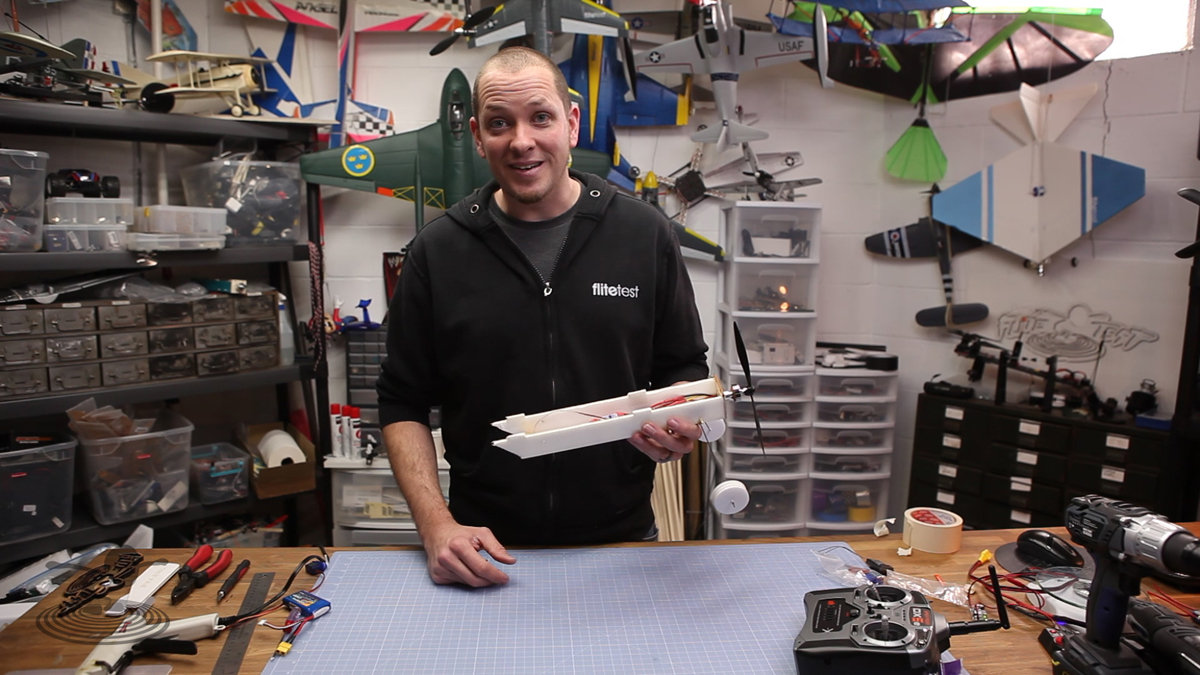 Ft Swappable Connecting Electronics Flite Test Wiring Diagram Electric Aeroplane Weve Shown You How To Build All Sorts Of Aircraft But Never Really Gone Into Details On The Basic Setup Electrics Your Scratch