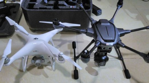 The DJI Phantom 4 Is A Quad Copter With Fixed Legs Uses Multiple Sensors In Conjunction Satellite Navigation To Track Subjects