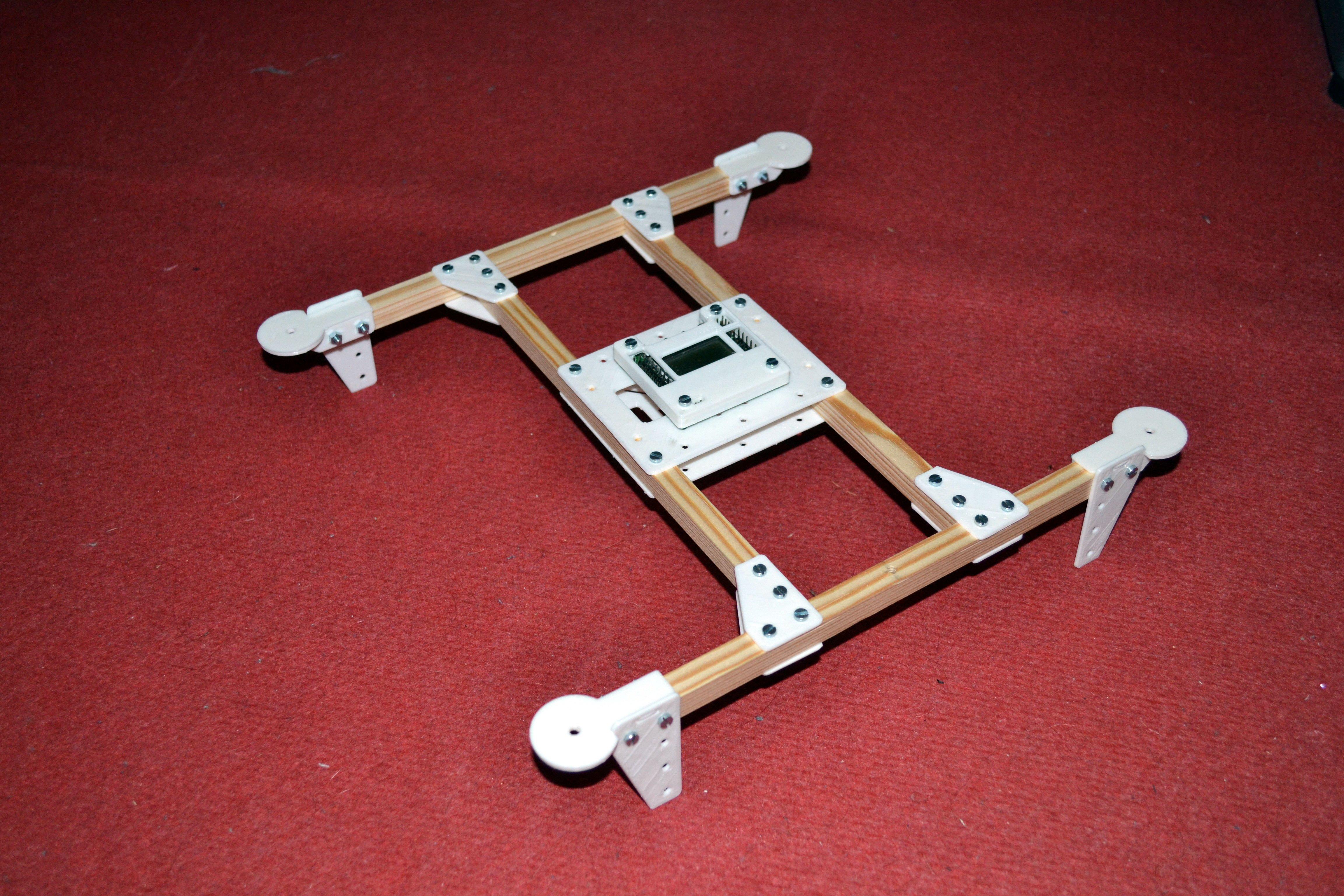 3D Printed FT Rotor Bones Knuckle Hubs | Flite Test