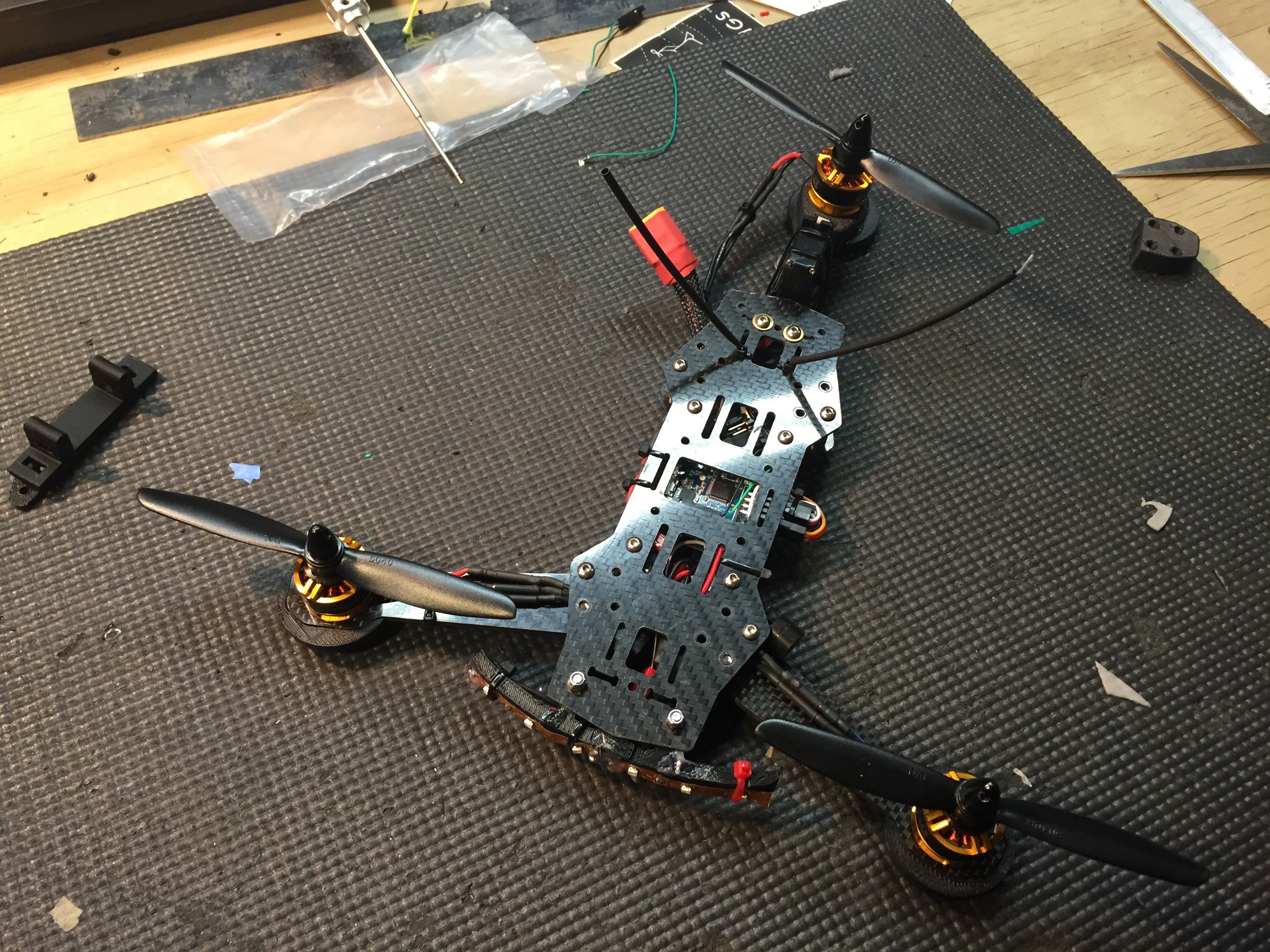 ZMR based Tricopter : UPDATED   Flite Test
