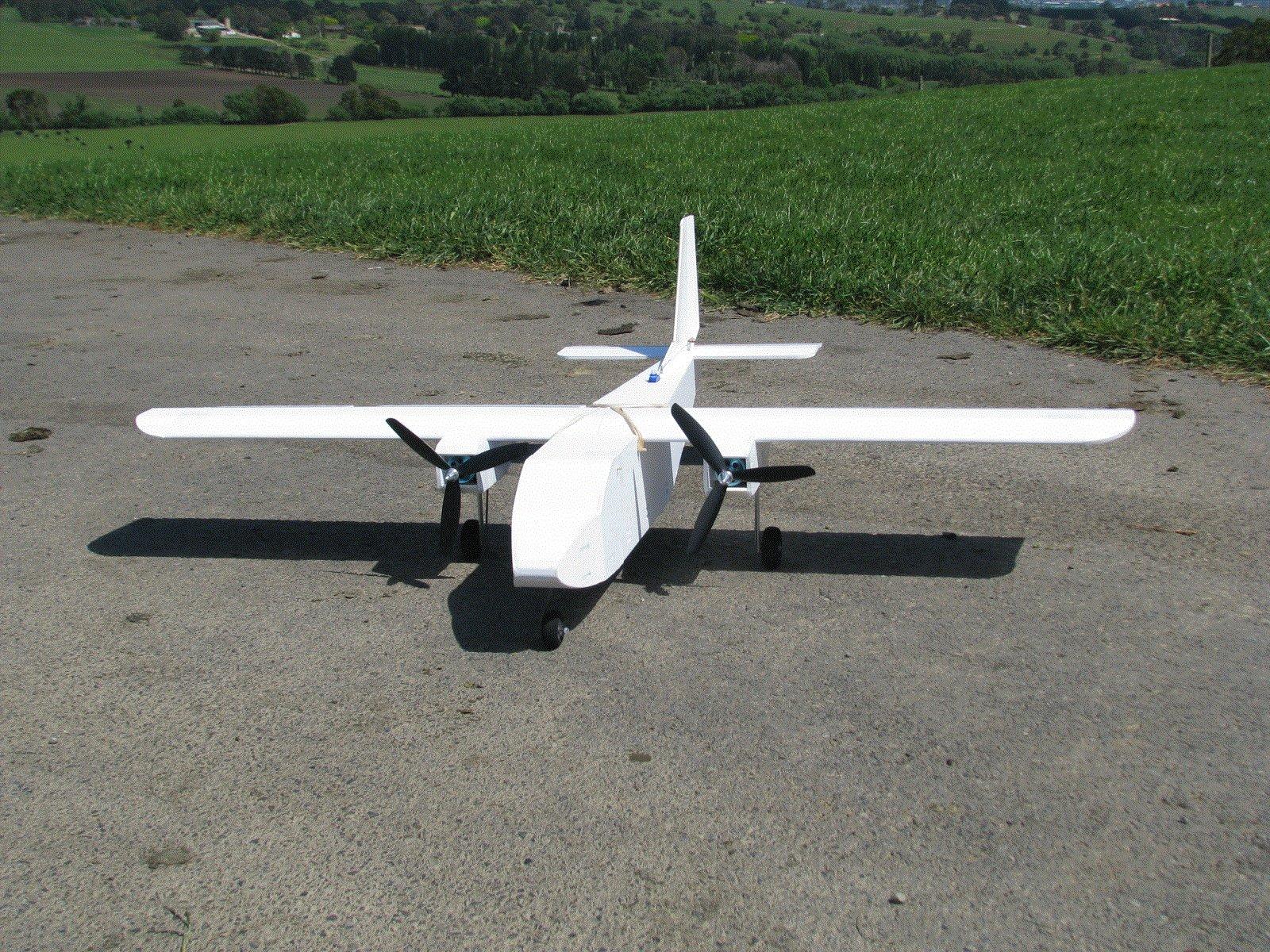 FB SkyHaul: A 5mm Foam Board Twin Engined Trainer | Flite Test