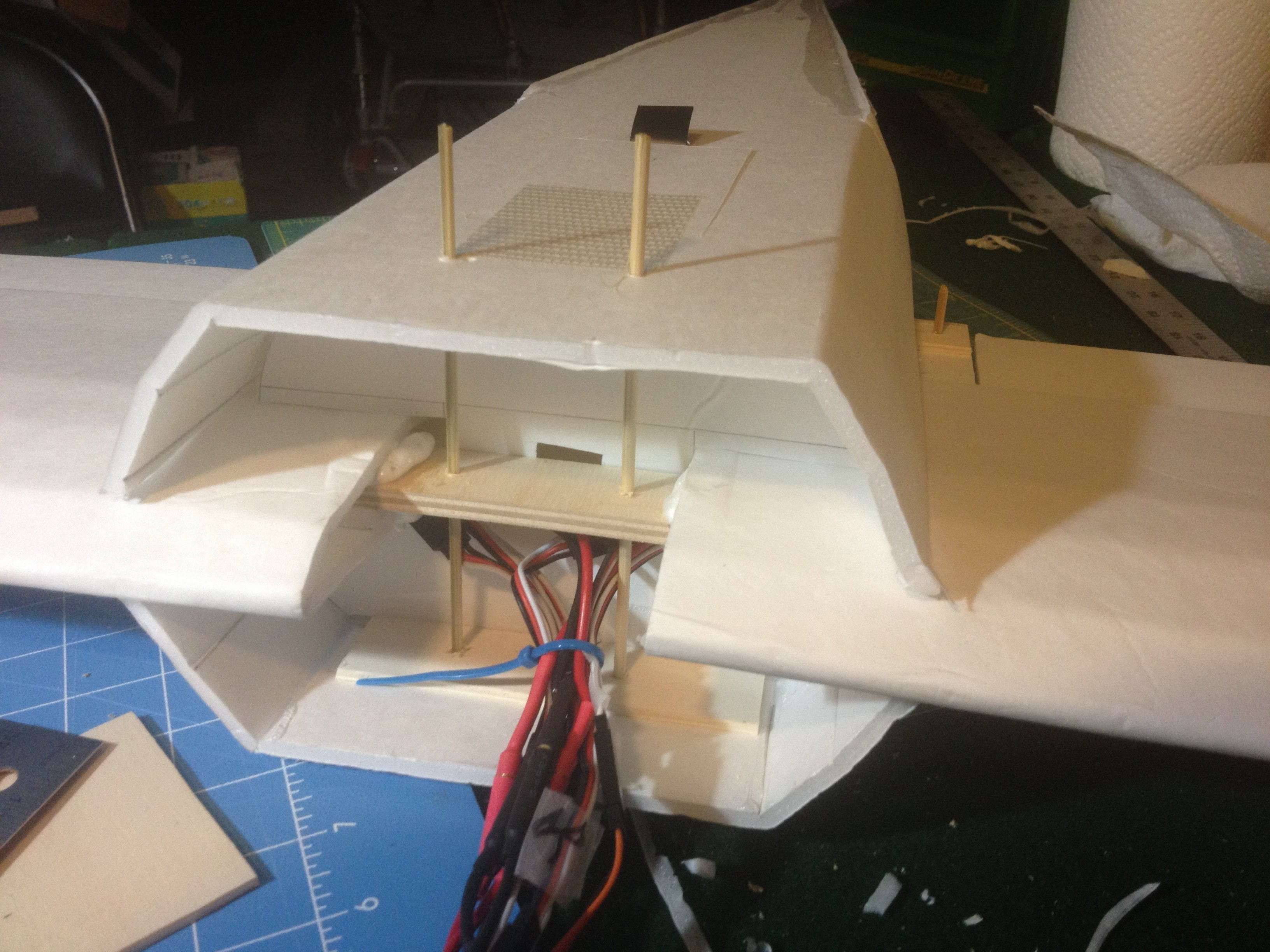 img 2279 jpg_1369347705 go big or go home! 4 motor scratch build! flite test Flite Test FT 3D at soozxer.org