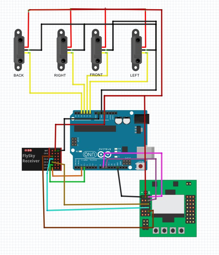 quadcopter obstacle avoidance system using arduino flite test here s the connection diagram