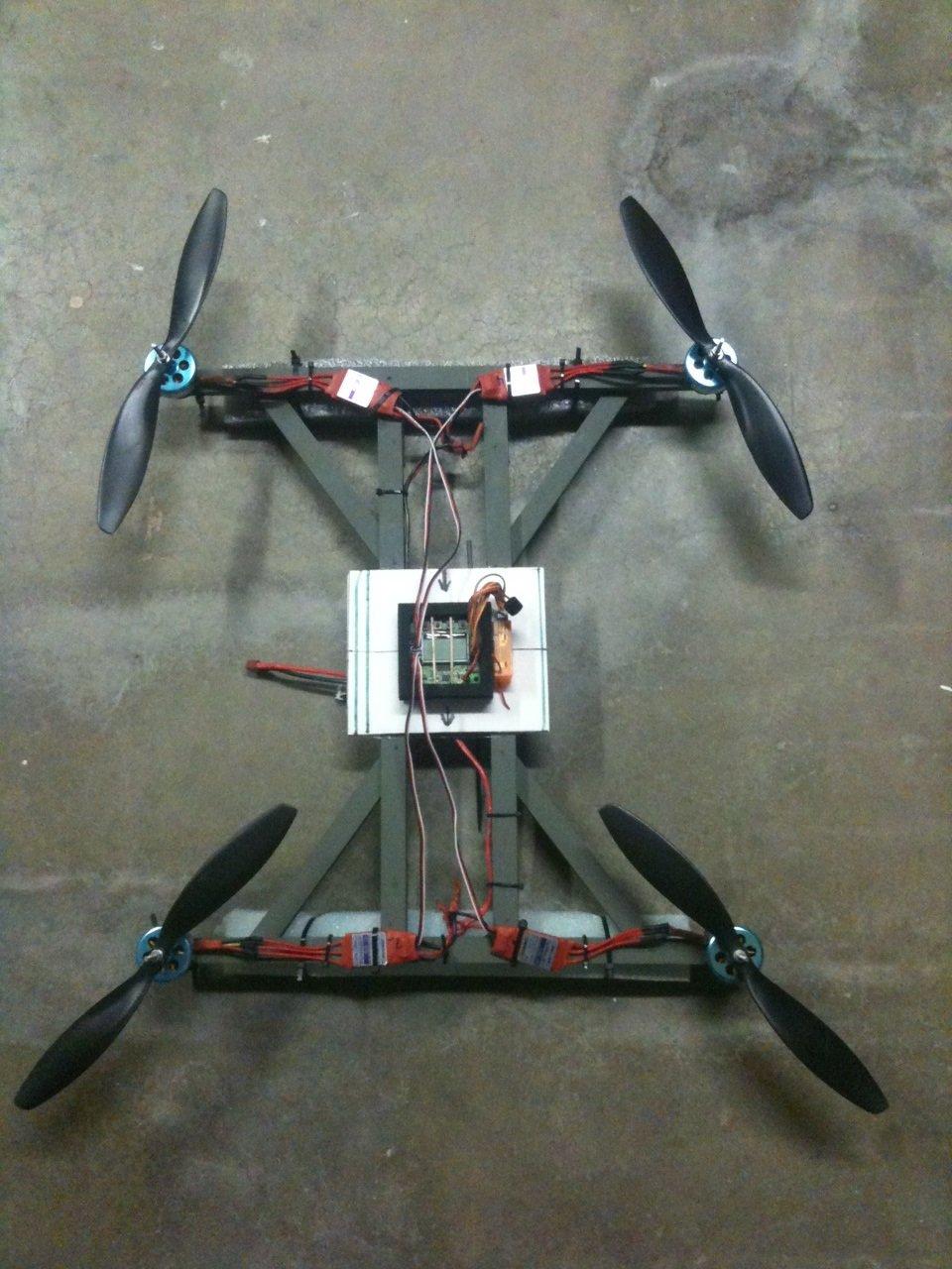 A more sturdy/durable FT H-Quad | Flite Test