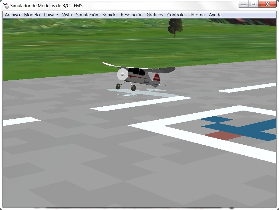 fms simulateur pour vista