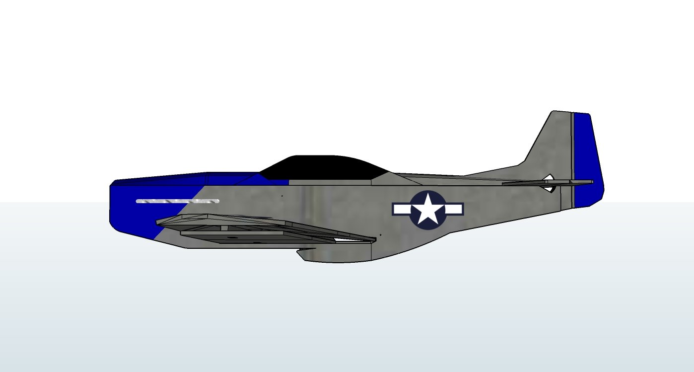 P 51 mustang swappable build with plans flite test malvernweather Images