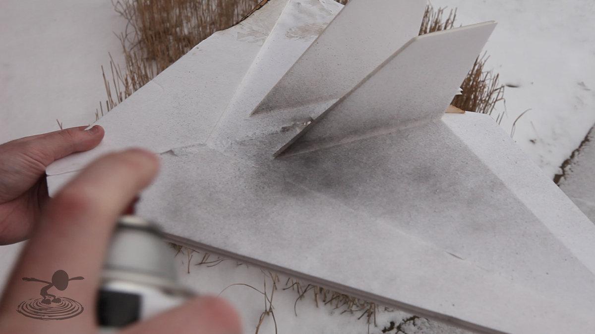 Painting Foam Board Flite Test