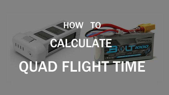 Quadcopter Flight Time How To Calculate Flite Test