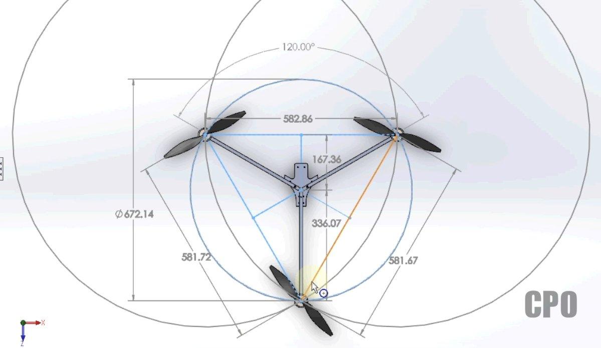 Tricopter v1. 5 template – rcexplorer.