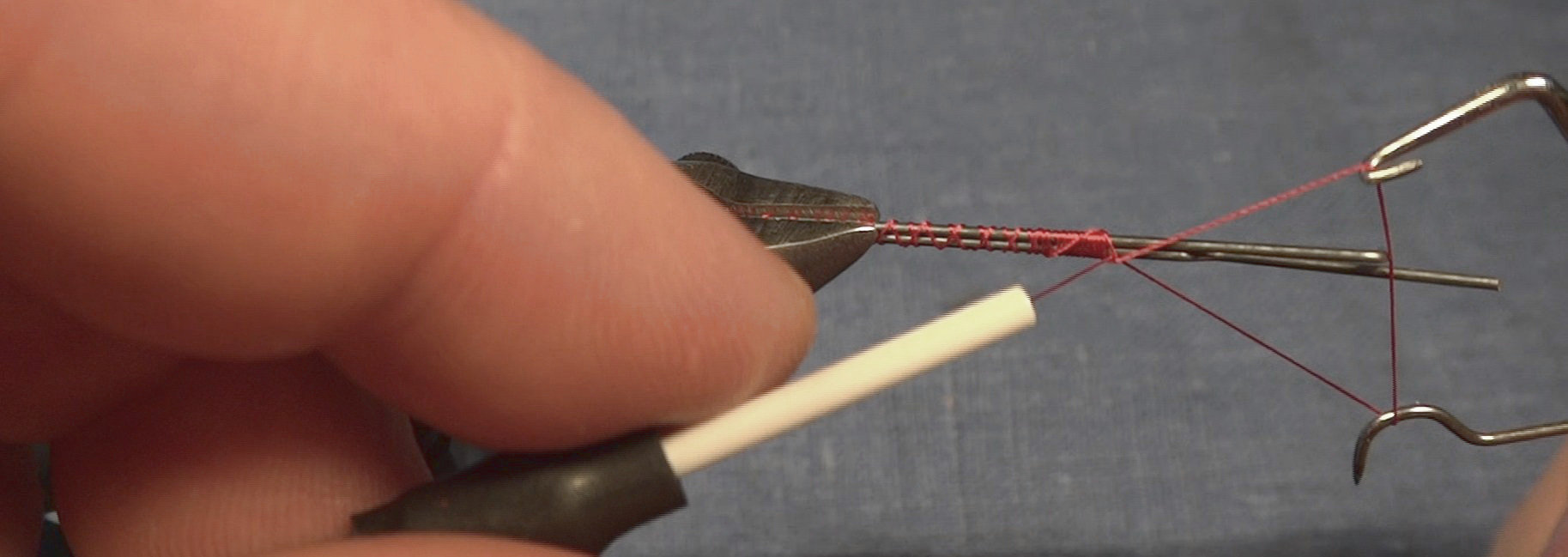 Make Control Rods with Fly-tying techniques | Flite Test