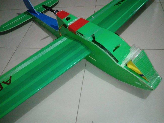KT板制作冲浪者滑翔机-航模制作教程附图纸 第154张