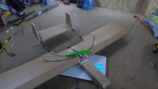 小型泡沫板飞机-含图纸 第8张
