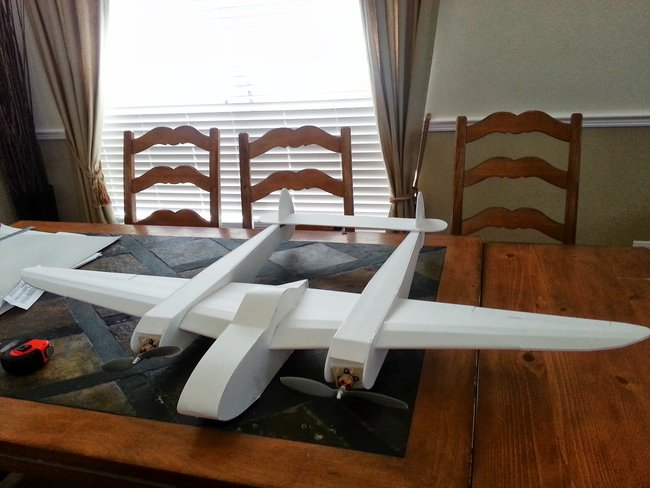Swappable P38 W Plans Twin Engine Goodness Flite Test
