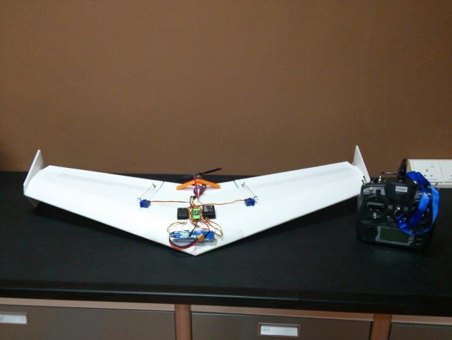 Simple Flying Wing Plans Ever Slow Mode Flite Test