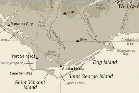 Dog Island Florida Map.The Forgotten Coast Of Florida A Weekend Escape Flite Test