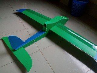 KT板制作冲浪者滑翔机-航模制作教程附图纸 第176张