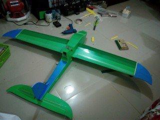 KT板制作冲浪者滑翔机-航模制作教程附图纸 第178张