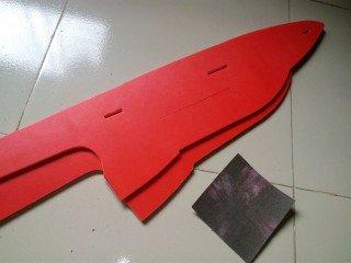 KT板制作冲浪者滑翔机-航模制作教程附图纸 第24张