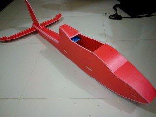 KT板制作冲浪者滑翔机-航模制作教程附图纸 第80张