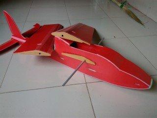 KT板制作冲浪者滑翔机-航模制作教程附图纸 第148张