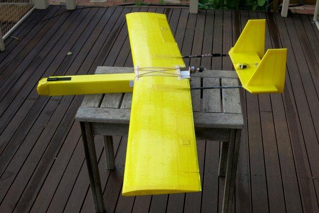 1 3m Twin Boom Pusher Flite Test