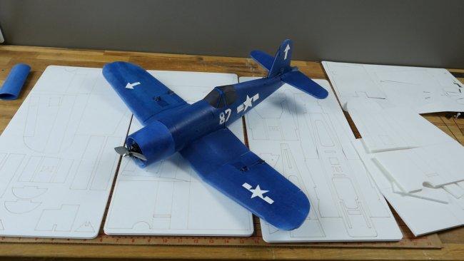FT Mighty Mini Corsair - Build | Flite Test