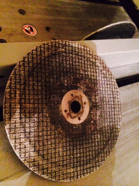 abrasive blade for skill saw or table saw