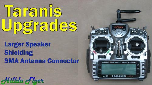 Taranis Upgrade: Speaker, Shielding, SMA connector Poster Image