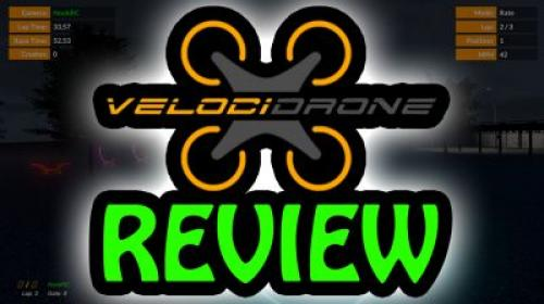 Velocidrone - an FPV Sim Worth Your $20 Poster Image