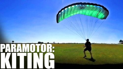 First Steps in Learning How to Paramotor | Kiting Image